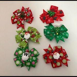 Christmas 🎄 hair bows